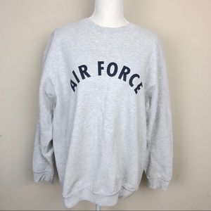 Vintage Air Force Crew Neck Sweater.